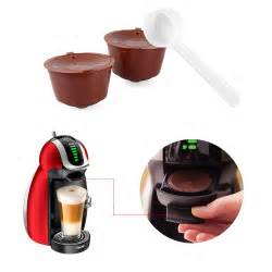 2pcs Refillable Reusable Coffee Capsules Pod Cup for Nescafe Dolce Gusto Plastic   eBay