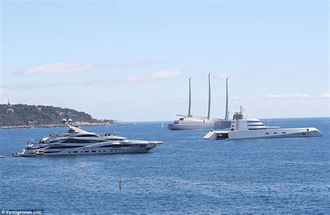 huge boat philip green s huge yacht overshadowed by russian yachts