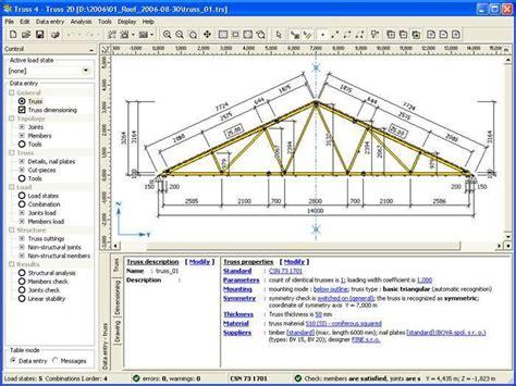 truss roof truss design software