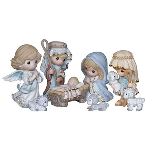 Figurine Set Isi 8pc nativity precious moments 8pc figurine set 131063 flossie s gifts and collectibles