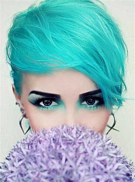 colorful short hair styles color for short haircuts short hairstyles 2017 2018