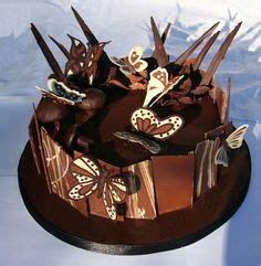 Chocolate Butterfly Decorations by 1000 Images About Cake Decorating Chocolate On