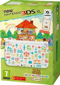 Happy Home Designer Board Game by New Nintendo 3ds Xl Includes Animal Crossing Happy Home
