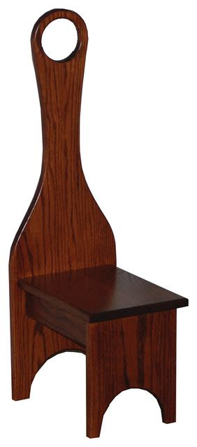 Amish Step Stool With Handle by Amish Made Handle Oak Step Stool Traditional