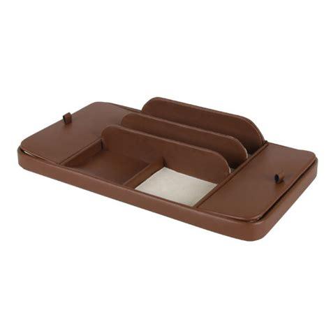 Leather Dresser Valet by Bolivar Leather Large Dresser Valet Brown American Box