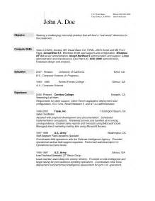 Resume Exles Science Field Exle Of Science Report