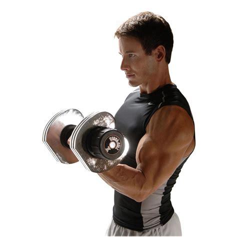 Dumbbell Stamina stamina 174 50 lb versa bell 174 ii dumbbell set 172678 at sportsman s guide