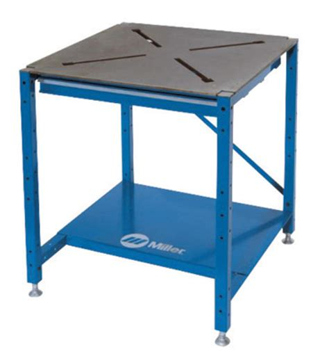 miller welding table airgas mil951168 miller 174 30 quot x 30 quot x 3 8 quot solid steel x pattern tabletop workbench package