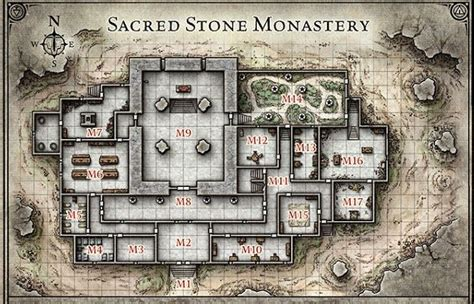 tile pattern temple catacombs kotor abandoned village combat map google search combat maps