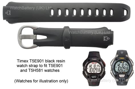 te timex resin strap watches