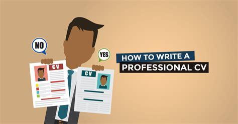 How To Write A Professional Cv by How To Write A Professional Cv Jobberman Nigeria