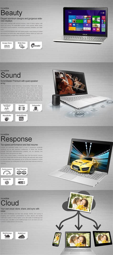 asus n550jk wallpaper asus n550jk cn451h laptop shopping express australia online