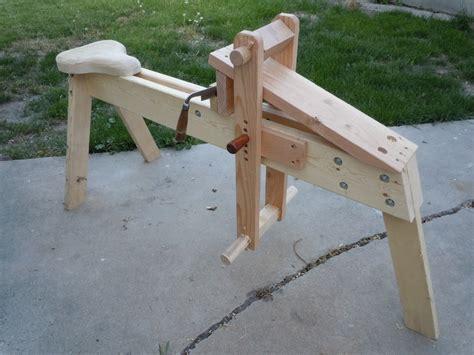 shaving bench plans shaving horse by codym lumberjocks com woodworking