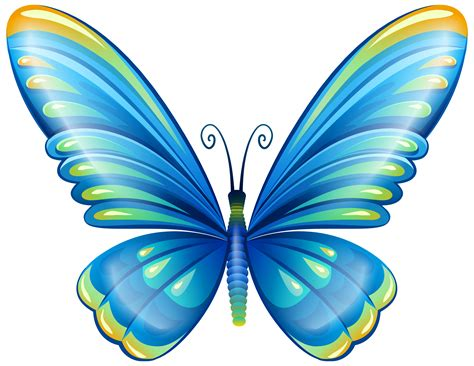 clipart butterfly large blue butterfly png clip image clip