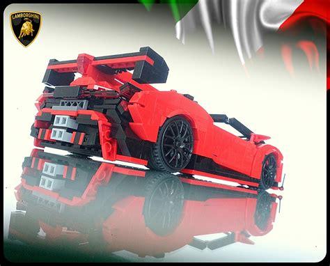 lamborghini veneno lego lego lambo veneno roadster the awesomer