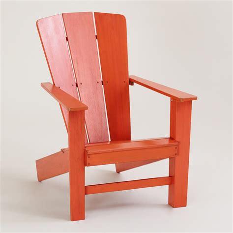 Adirondack Chairs World Market by Spicy Orange Coastal Adirondack Chair World Market