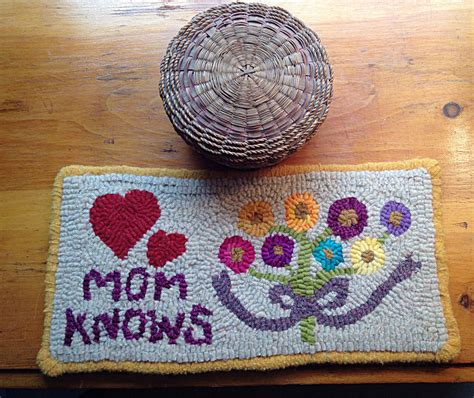 wool rug hooking supplies quot knows quot rug hooking kit two cats and hooking