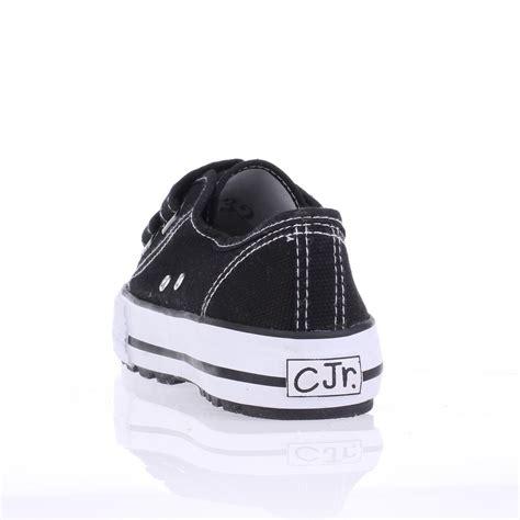 Sepatu Sneakers Anak Laki Kets Boot Tali Hitam Putih 50t44 sepatu slip on sneaker kets kasual anak laki laki cja 101 original strategi manajemen plus