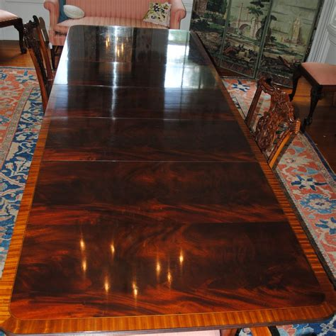 stickley mahogany dining table crotch mahogany stickley dining conference table 3