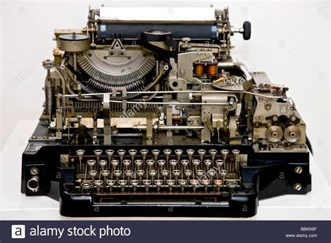 Old Telegram Machine Stock Photo 24403751 Alamy