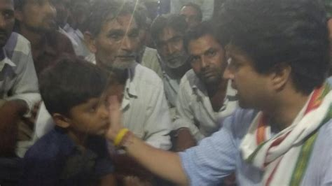 Section 151 Crpc by Jyotiraditya Scindia Meets Families Of Farmers Killed In