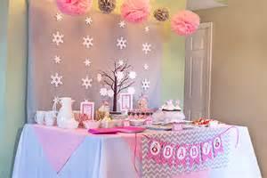 Winter Wonderland Wedding Table Decorations - winter wonderland little penguin baby shower celebration lane