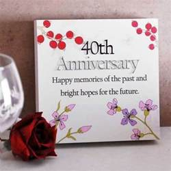 cool 40th anniversary wishes for parents greetings nicewishes