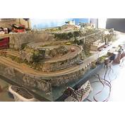 Targa Florio Themed Slot Car Track  Illustrated