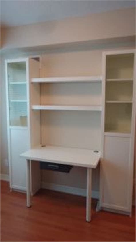 diy desk from shelving units any shelving would