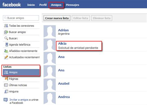 como hago para saber si mi solicitud de tarjeta de credito como saber si me aceptaron como amigo en facebook