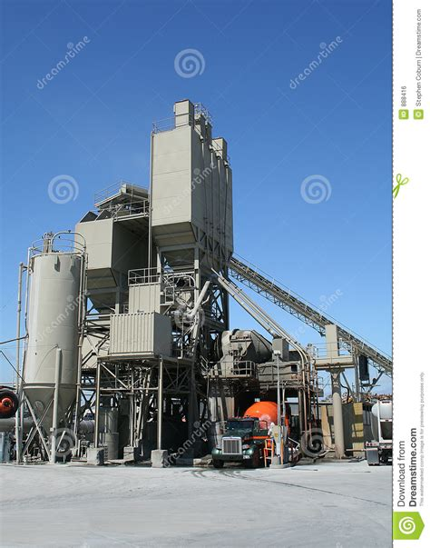 cement factory cement factory royalty free stock image image 888416