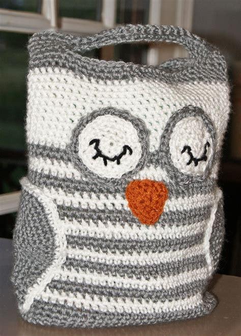 owl tote bag pattern free crochet pattern handbag owl tote
