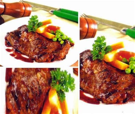 resep bistik daging sapi spesial  praktis county food