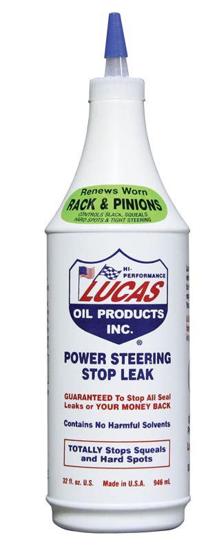 Lucas Power Steering Stop Leak lucas 10011 power steering stop leak 1 qt bottle autoplicity