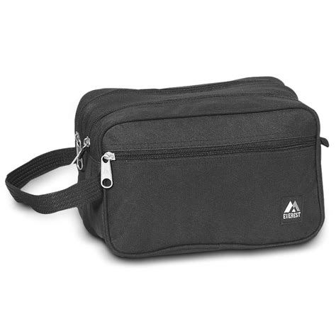 Toiletry Bag Dual Compartment Toiletry Bag Everest Bag