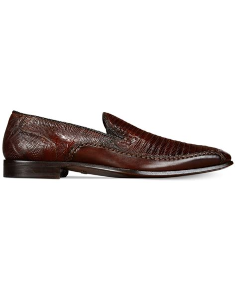 mezlan loafer mezlan coello loafers in brown for lyst
