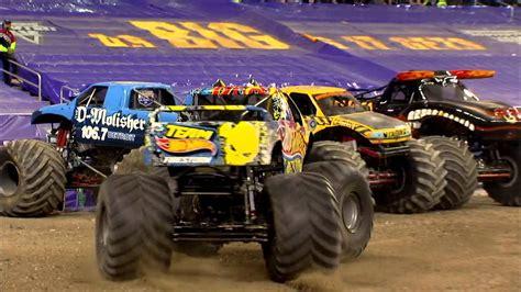 monster truck jam ford field monster jam in ford field detroit mi 2014 full show