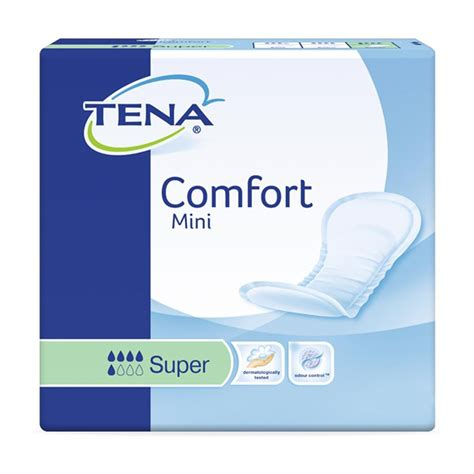 comfort mean tena comfort mini super case saver 6 packs of 28 ebay
