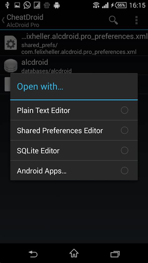 cheats for android droid root only applications android sur play