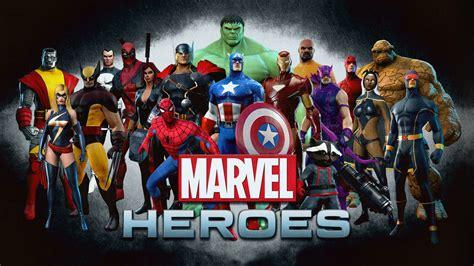 film marvel gratuit fond d 233 cran du jeu marvel heroes 1600x900 405357