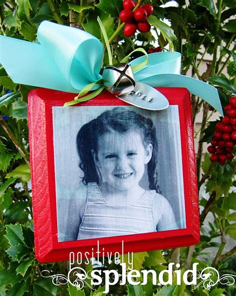 photo christmas list ornament tutorial ornament and