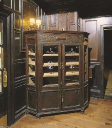 cabinet humidor for sale a stained oak corner humidor cabinet circa 1920 christie s