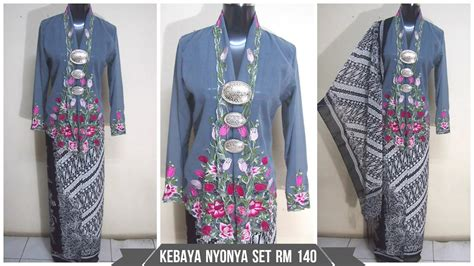 Baju Kebaya Set kebaya nyonya grey set end 6 27 2016 2 15 pm