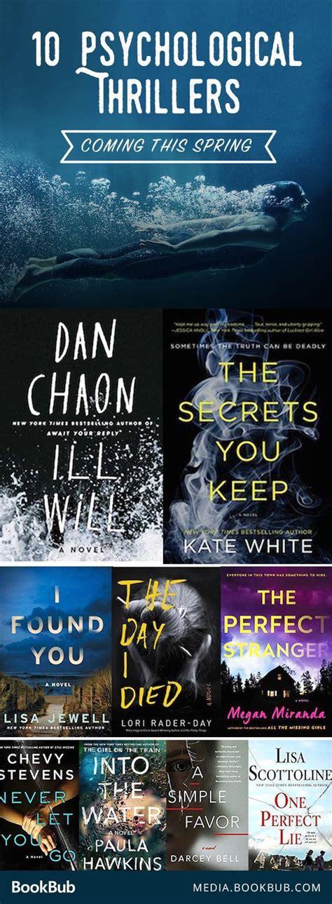 best thrillers best 25 thriller books ideas only on
