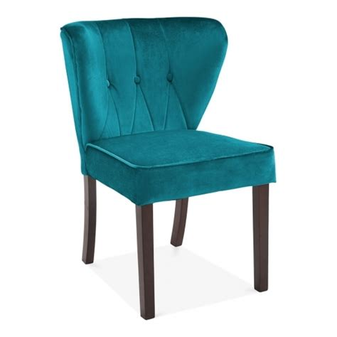teal dining chairs teal velvet upholstered chancery dining chair modern