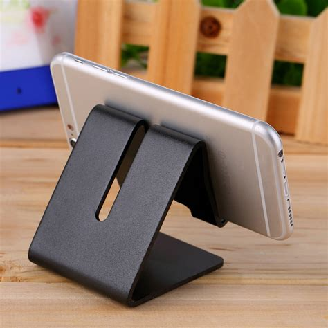 universal cell phone desk aluminum stand holder for mobile