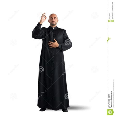 Wedding Blessing Priest by Blessing Of The Priest Stock Photo Image 55578634