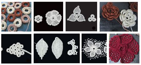 download crochet tutorial merajut motif sisik must know irish crochet lace clones lace history