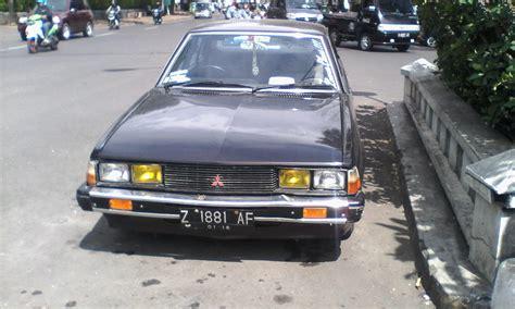 Mobil Galant Sigma mobil klasik sedan mitsubishi galant sigma 1600 cc 1982