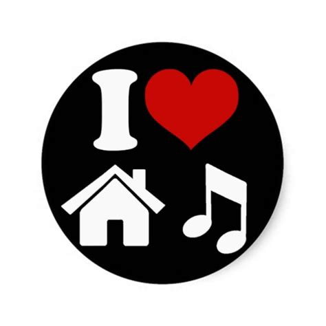 where can i download house music music sticker clipart best
